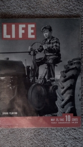 My new, old copy of Life magazine from 1942.